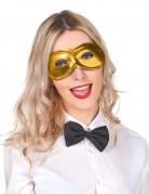 Augenmaske Faschingsmaske gold
