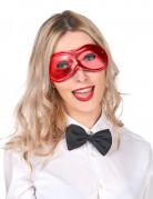 Augenmaske Dominomaske rot