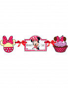 Girlande Minnie s Cafe Micky Maus Lizenzartikel bunt 110 cm