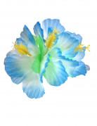 Haarklammer Hawaii-Blüte blau