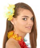 Hawaii-Blume Haarklammer gelb