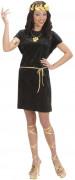 Römer Tunika Grieche Unisex Kostüm schwarz-gold