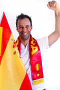 Spanien-Fanset 3-teilig rot-gelb