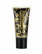 Glitzer-Gel Tube Make up gold 25 ml