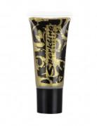 Glitzer-Gel Tube Make up gold 25 ml