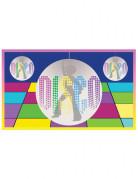 Disco Banner Party-Deko bunt