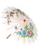 Asiatischer Sonnenschirm Kostümzubehör bunt 60 cm