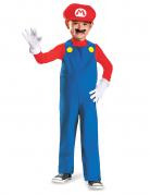Mario Kinderkostüm Super Mario Videospiel rot-blau-weiss