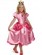 Prinzessin Peach Kinderkostüm Super Mario Videospiel rosa