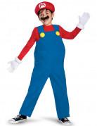 Hochwertiges Super Mario Kinder-Kostüm Lizenzartikel blau-rot