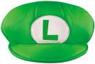 Luigi Mütze Mario Bros. Kappe für Erwachsene grün-weiss