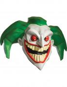 Furchterregende Joker-Maske Batman-Lizenzartikel weiss-grün-rot
