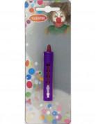 Schminkstift für Karneval lila 2,3g