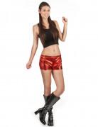 Disco-Hotpants 70er-Hotpants rot