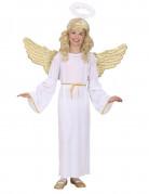 Engel Kinderkostüm Mädchen weiss-gold
