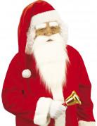 Extralange Weihnachtsmann-Mütze Weihnachten rot-weiss
