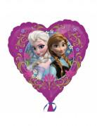 Herz Aluminium Luftballon Die Eiskönigin Disney-Lizenzartikel bunt