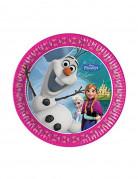 Pappteller Die Eiskönigin Disney-Lizenzartikel 8 stück bunt