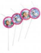 Strohhalme Die Eiskönigin Disney-Lizenzartikel 6 Stück bunt