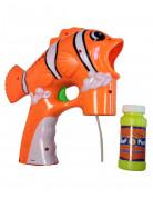 Clownfisch-Seifenblasenpistole Kinderspielzeug orange-weiss-schwarz