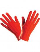 Elegante Handschuhe kurz für Erwachsene rot