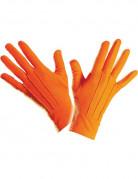 Elegante Handschuhe kurz für Erwachsene orange