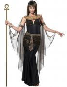 Ägyptische Königin Pharaonin Damenkostüm schwarz-gold