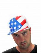 Mütze Cap USA blau-weiss-rot