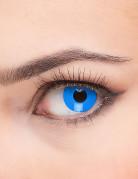 Kontaktlinsen Kostüm-Accessoire blau