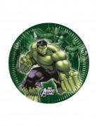 Pappteller Party klein Lizenzartikel Avengers grün 19,5cm