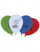 Luftballons Lizenzartikel Avengers 8 Stück bunt