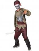 Geisterpirat Halloween Kinderkostüm rot-schwarz-beige