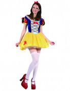 Märchenprinzessin Damen-Kostüm bunt
