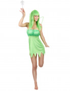 Zauberhafte Fee Damenkostüm Märchen grün
