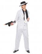 Gangster-Herrenkostüm 20er Jahre weiss