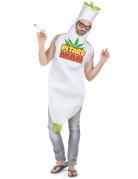 Cannabis Herren-Kostüm weiss-bunt
