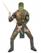 Ninja-Turtles-Kostüm Donatello grün-braun