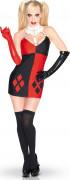 Suicide Squad Harley Quinn Damenkostüm Lizenzware schwarz-rot