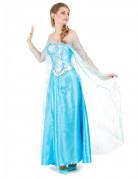 Disney Frozen Die Eiskönigin Elsa-Damenkostüm Lizenzartikel hellblau