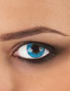 Kontaktlinsen Erwachsene hellblau