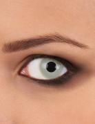 Motivlinsen Kontaktlinsen Zombie grau