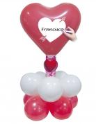 Set Luftballons mit Herzen und Ballons