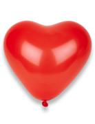 Herz Luftballons Party Zubehör 100 Stück rot