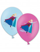 Luftballons Lizenzartikel Die Eiskönigin 6 Stück blau-lila