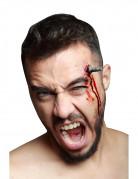 Bolzen Horror Make-up metallic