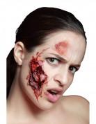 Schaurige Bissverletzung Horror Make-up