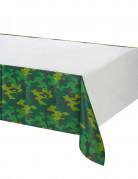 Tischdecke Camouflage Party-Deko grün 137x259cm