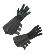 Batman-Handschuhe Erwachsene schwarz