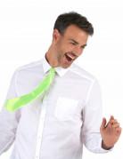 Krawatte Kostümaccesosoire neongrün
