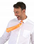 Krawatte für Erwachsene neonorange